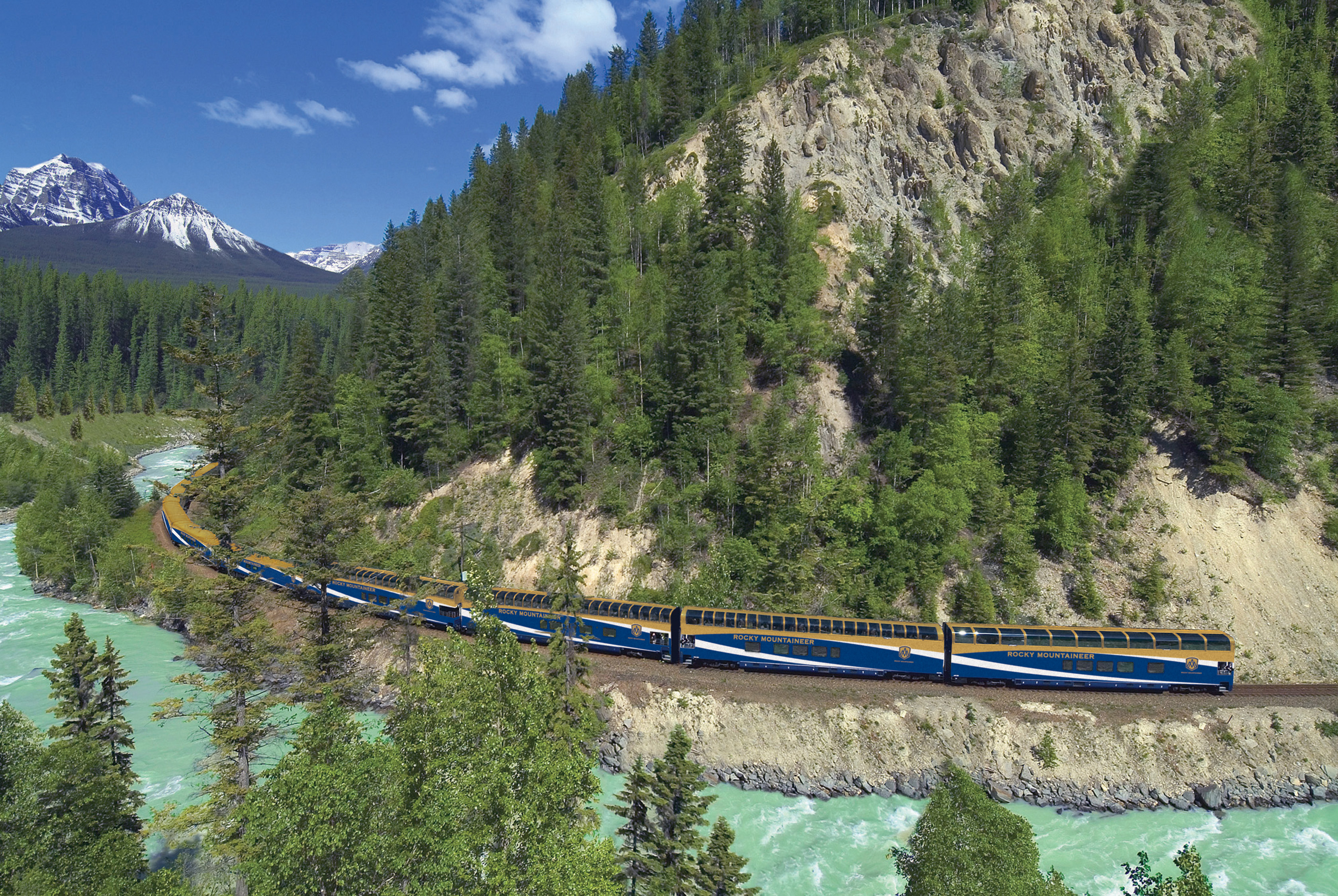 Image result for rocky mountaineer train